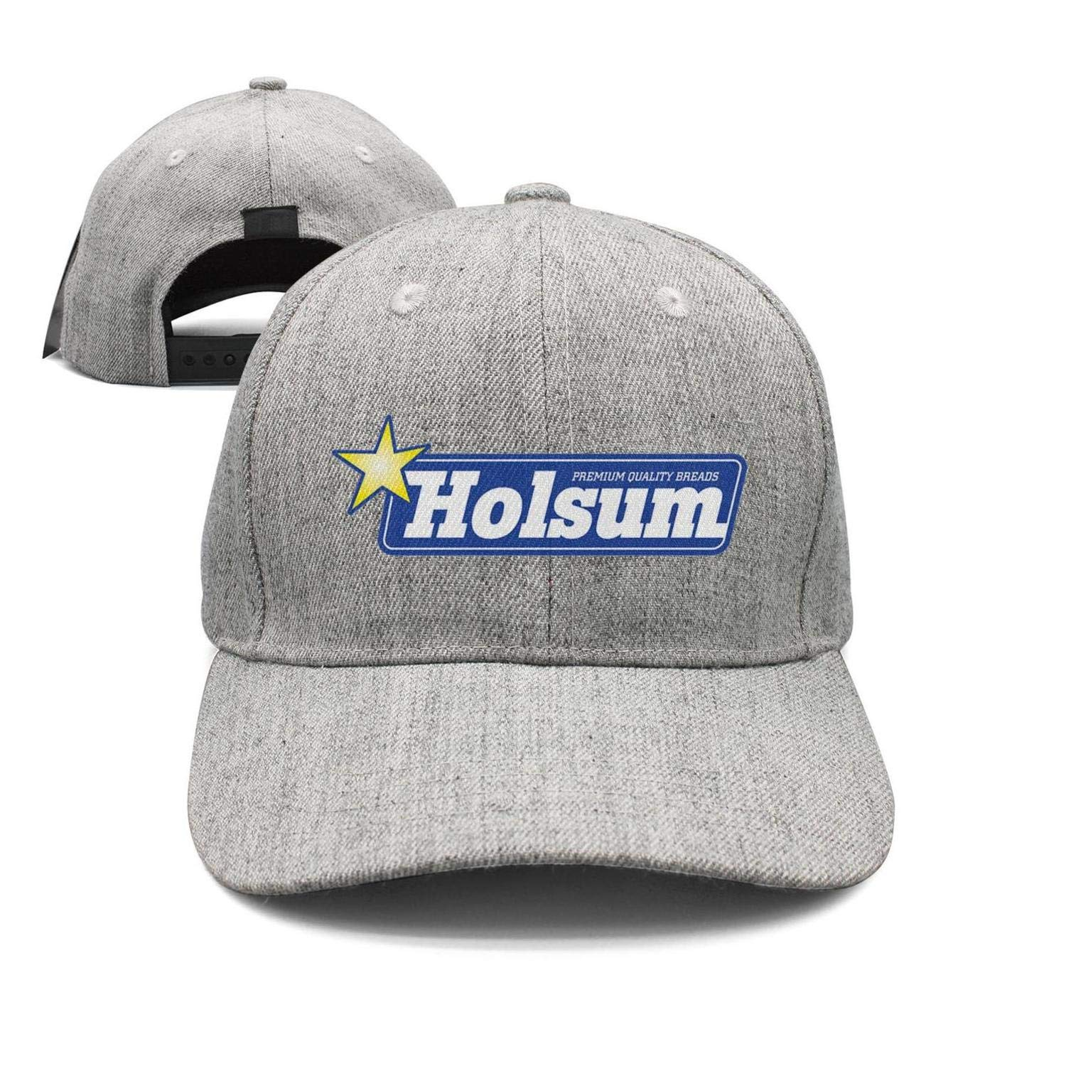 HCAHCYKN Unisex Holsum-Bread-Logo-Baseball hat Adjustable Snapback Cap