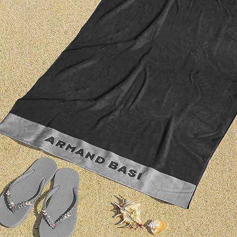 Burrito Blanco Armand Basi Toalla de Playa/Toalla de Piscina 62 Grande Lisa Algodón 100