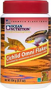 Ocean Nutrition Cichlid Omni Flakes 5.5-Ounces (154 Grams) Jar