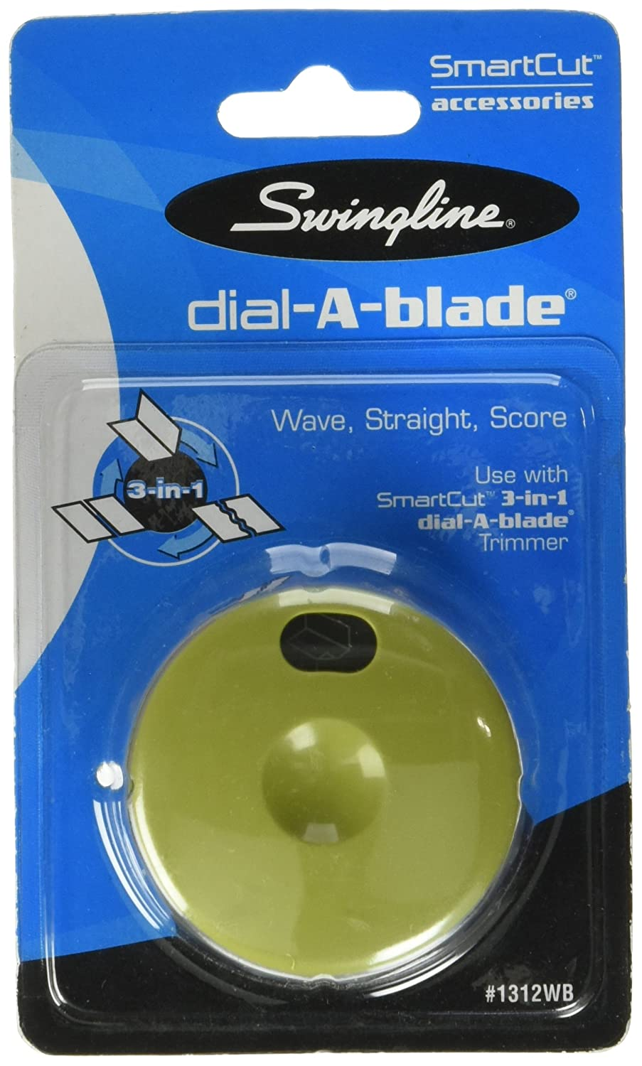 Swingline SmartCut Wave//Straight//Score 3-in-1 Trimmer Replacement Dial 1312WBA