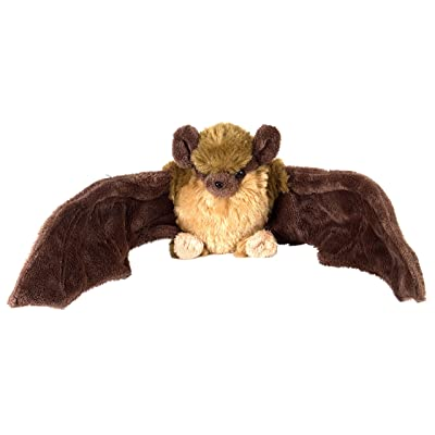 "Wild Republic Brown Bat Plush, Stuffed Animal, Plush Toy, Gifts for Kids, Cuddlekins, 8"": Toys & Games"