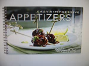 The Pampered Chef Easy & Impressive Appetizers Recipe Collection