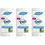Tom's of Maine Natural Long Lasting Deodorant Multi Pack, Tea Tree, 3 Count