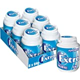 Extra Peppermint Chewing Gum Bottle 64g, 6 x 64 g, Peppermint