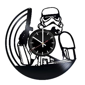 Amazon.com: Star Wars Darth Vader - Reloj de pared con ...