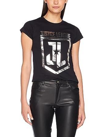 Womens Justice League Movie-Foil Logo T-Shirt CID 2018 Unisex Online Huge Surprise Sale Online Sale Wide Range Of Buy Cheap Many Kinds Of Buy Cheap 100% Authentic Rbcykor2Et