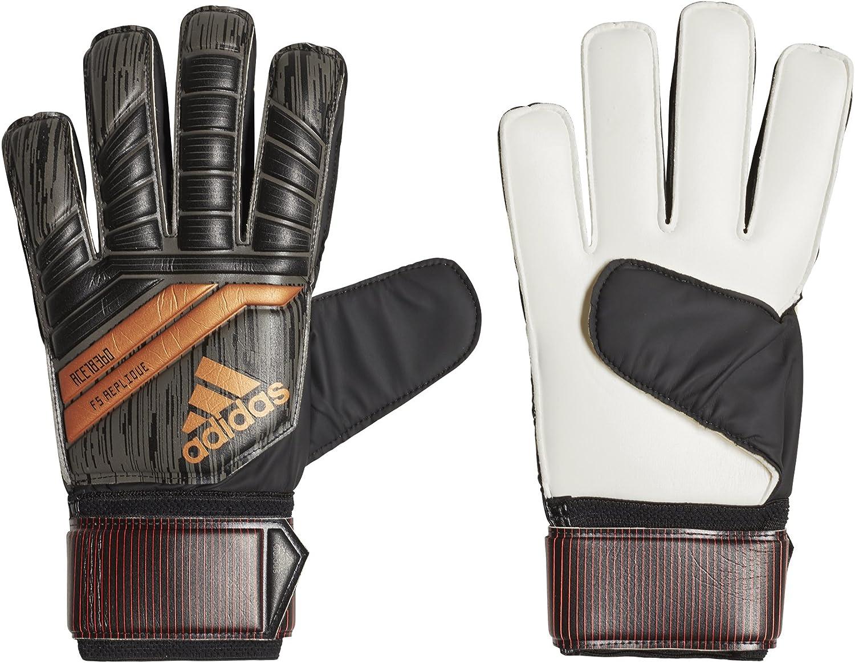 adidas Adult Predator 18 Fingersaver Replique Soccer Goalkeeper Glove Black Size