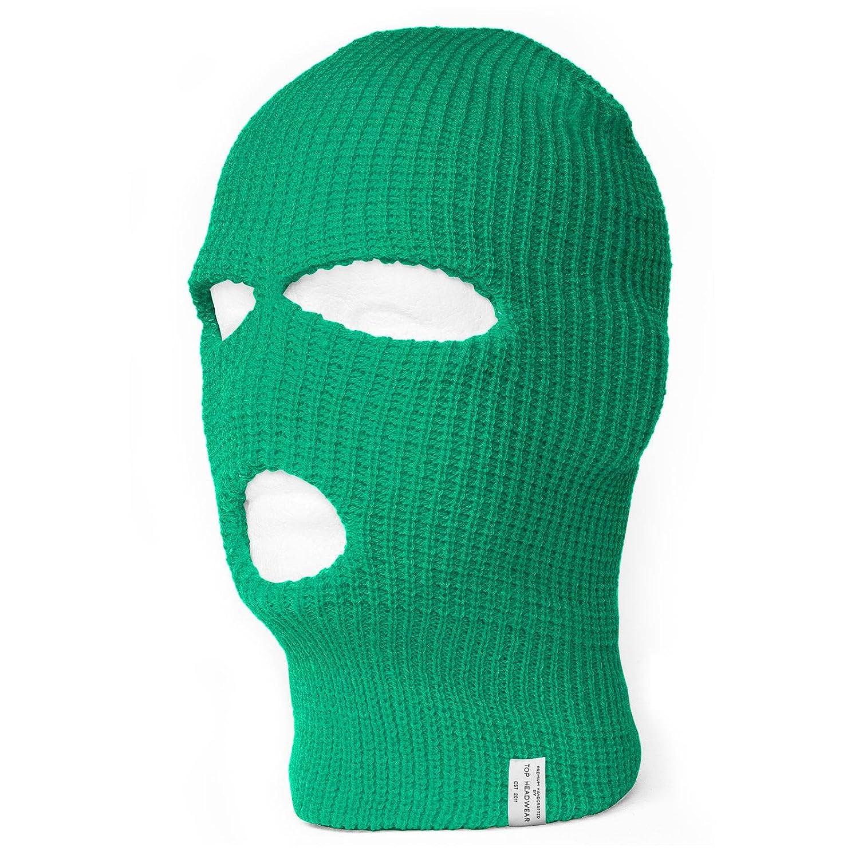 Topheadwear 3 Hole Ski Face Mask Balaclava Beige At Amazon Mens