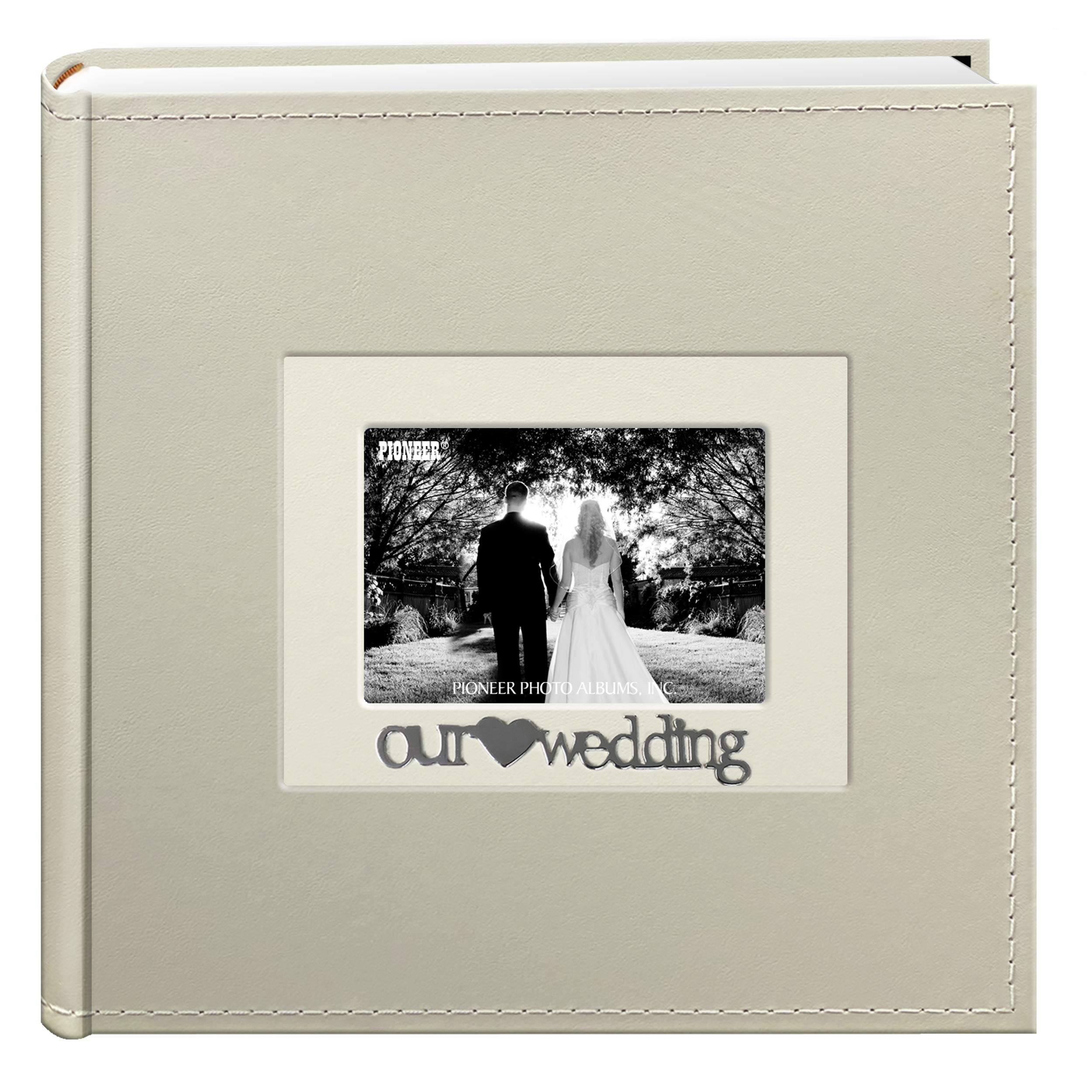 Pioneer 2Up Sentiments 4x6 Photo Album-Wedding