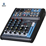 Audio 2000s AMX7321UBT 4-Channel Audio Mixer with USB, Bluetooth and DSP Sound Effects