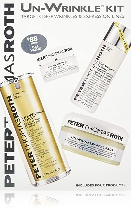 Peter Thomas Roth Un-Wrinkle Kit - with Toner
