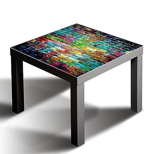 gsmarkt | de cristal cubierta tablero de cristal | para Ikea Lack ...