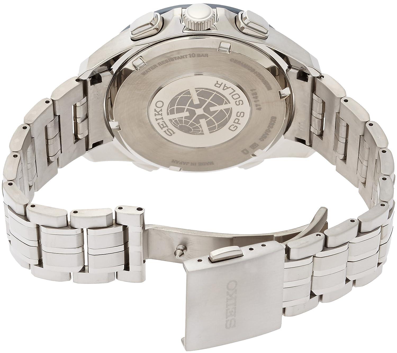 Amazon.com: Seiko Blue Dial Titanium Chronograph Quartz Mens Watch SSE005: Clothing