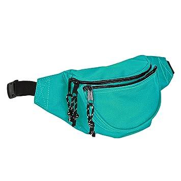 Amazon.com: Dalix Fanny Pack w/3 bolsillos Viajes Bolsa de ...