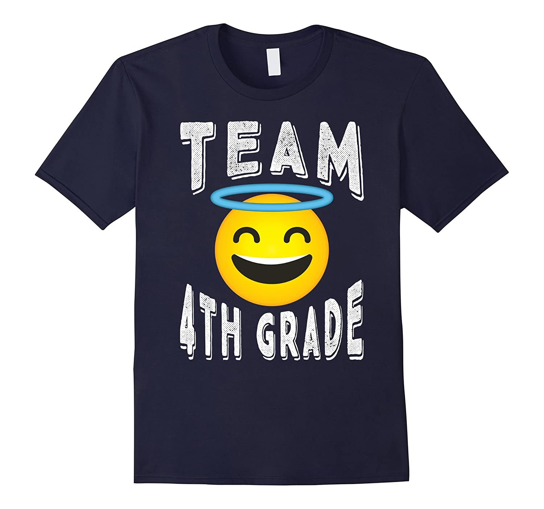 4th Grade Teacher Shirt – Emoji Team 4th Grade T-shirt
