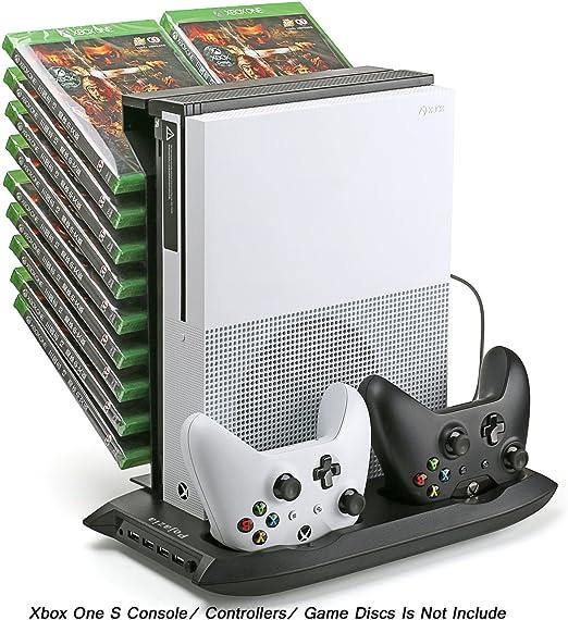 Pojazia Xbox One S Soporte vertical de ventilador de refrigeración ...