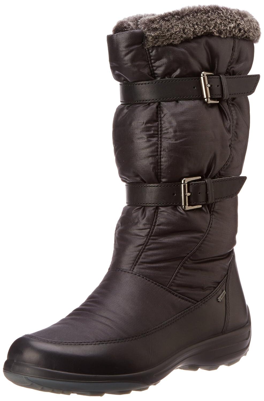 45d1b77452 ECCO Women's Voyage Black/Black/Dark Sha. Fa/Te/D.Fac Snow Boots ...