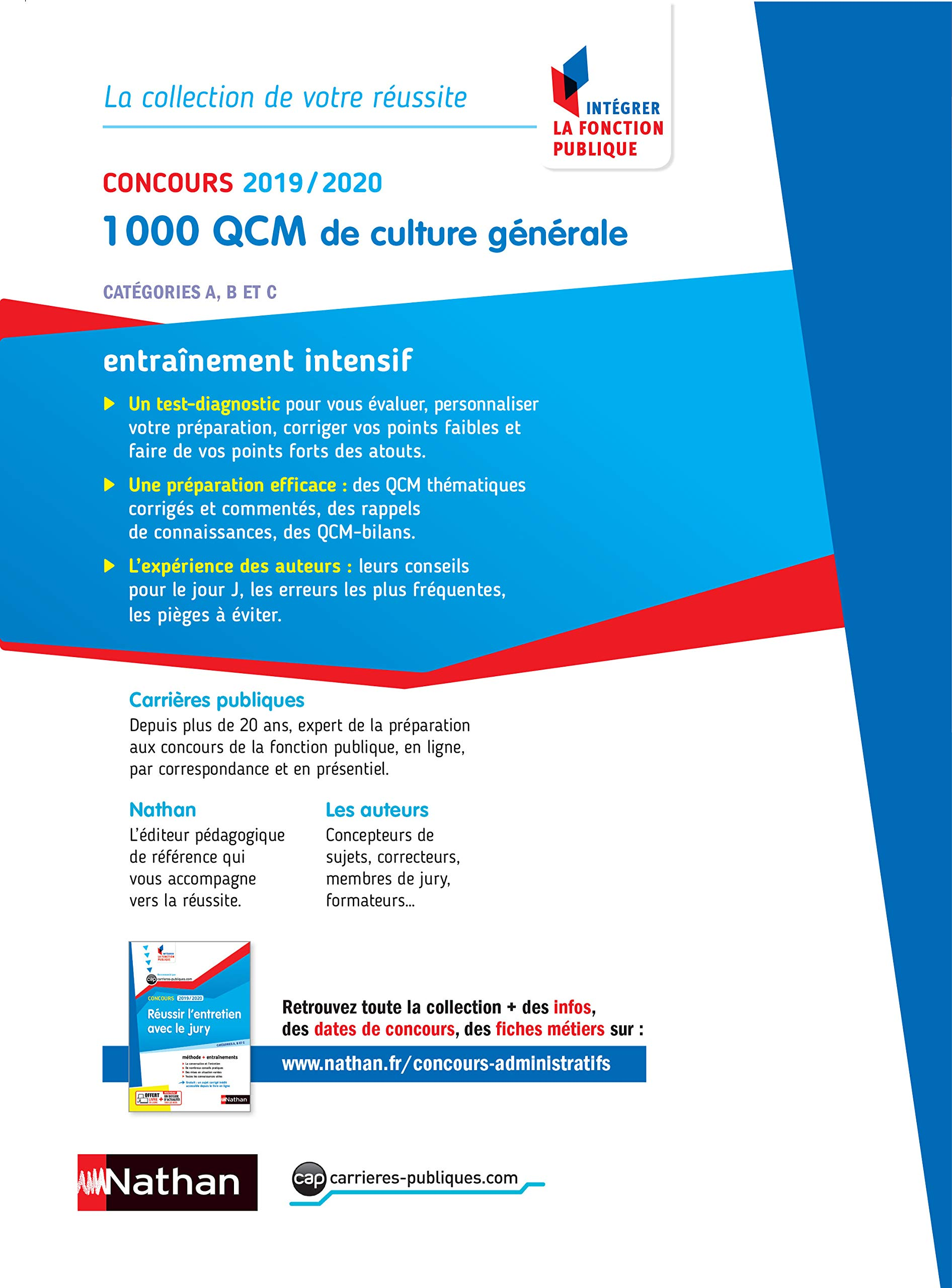 dba32f6ea30 Amazon.fr - 1000 QCM de culture générale - Catégorie A
