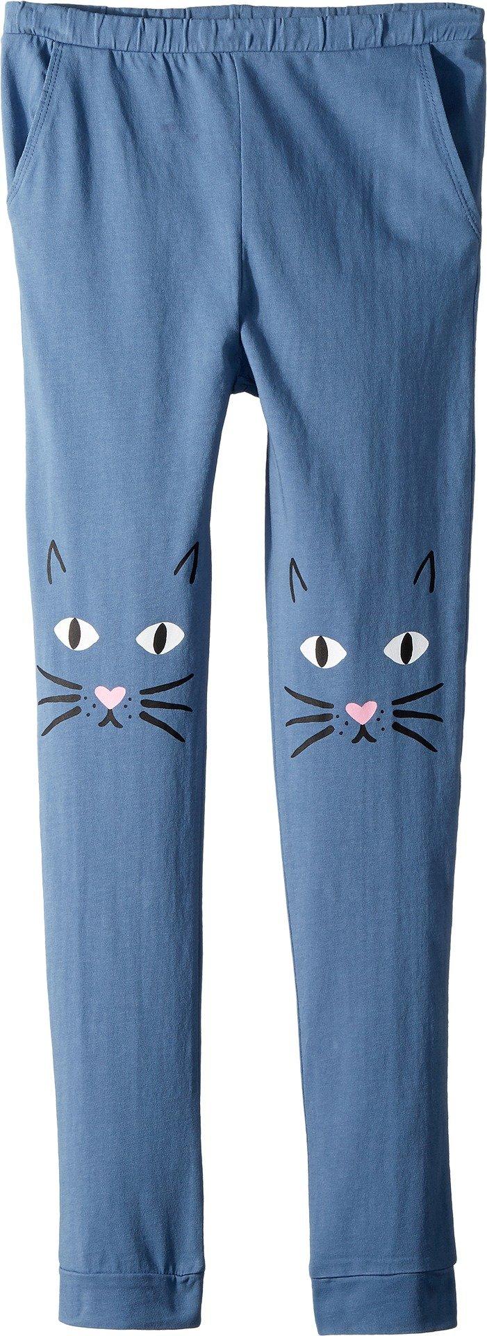 Chaser Kids Girl's Jersey Meow Knees Sweatpants (Big Kids) ST Tropez 7
