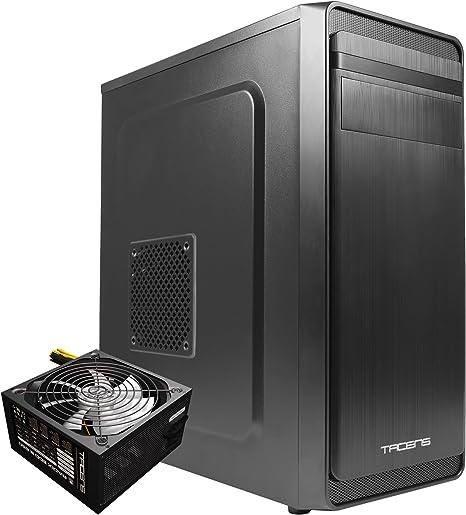 Tacens BLTAC1 - Pack Caja para Ordenador 2IMPERATOR y Fuente de alimentación Radix Eco 650(Caja de Ordenador ATX, Ventilador Trasero 12cm, 7 Slots.Fuente de alimentación de 650 w 87% Eficiencia: Amazon.es: Informática