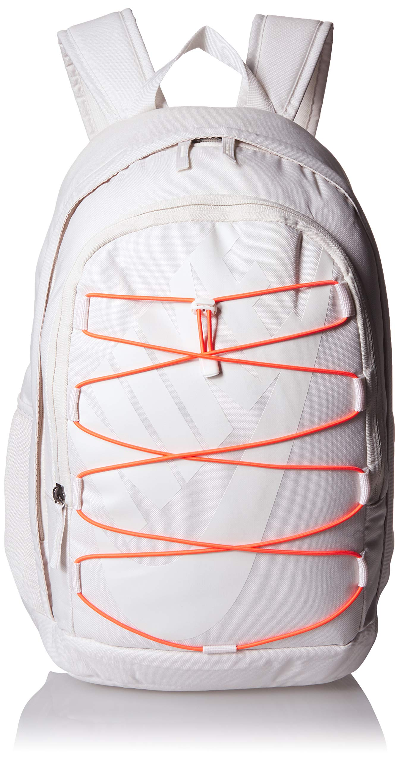 Nike Hayward 2.0 Backpack, Backpack for Women and Men with Polyester Shell & Adjustable Straps, Phantom/Bright Crimson/Phantom by Nike