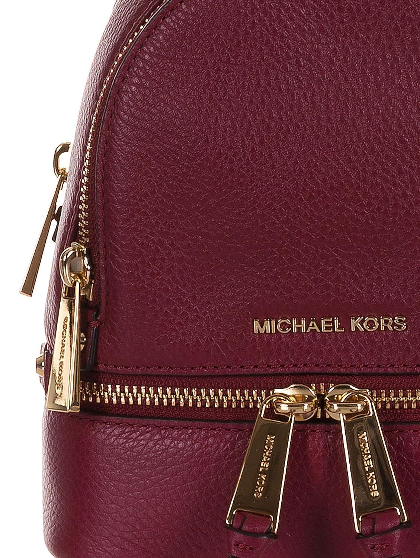 Mochilas & Riñoneras Michael Kors rhea xs Mujer - Piel (30T6GEZB1LMULBERRY): Amazon.es: Ropa y accesorios
