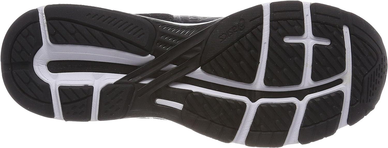 ASICS Damen GT-2000 6 Laufschuhe, grau, 38 EU Schwarz (Black/White/Carbon 9001)