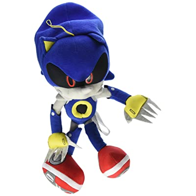 "Great Eastern GE-52523 Sonic The Hedgehog 11"" Metal Sonic Stuffed Plush: Toys & Games"