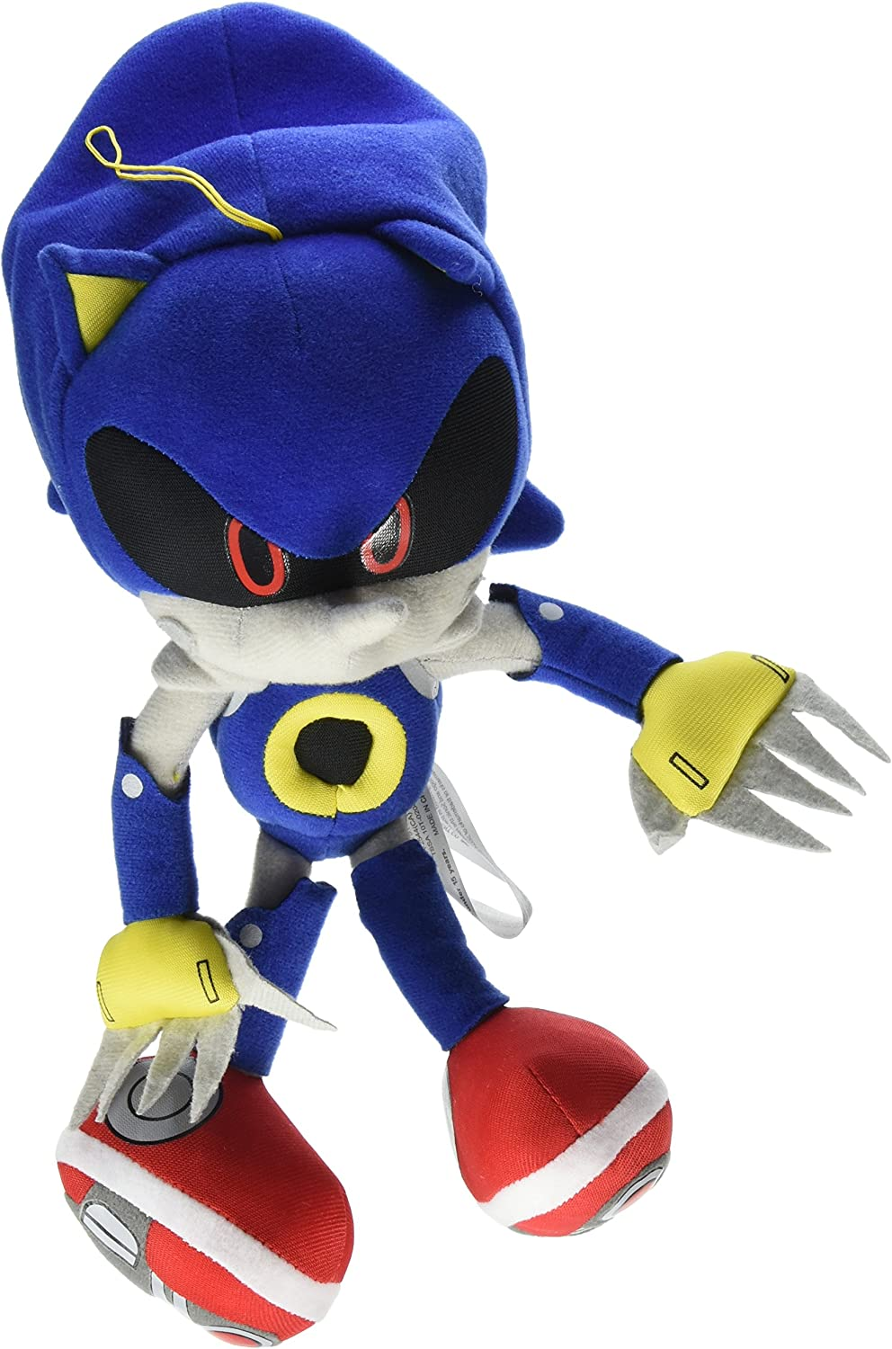 Amazon Com Great Eastern Ge 52523 Sonic The Hedgehog 11 Metal Sonic Stuffed Plush Toys Games