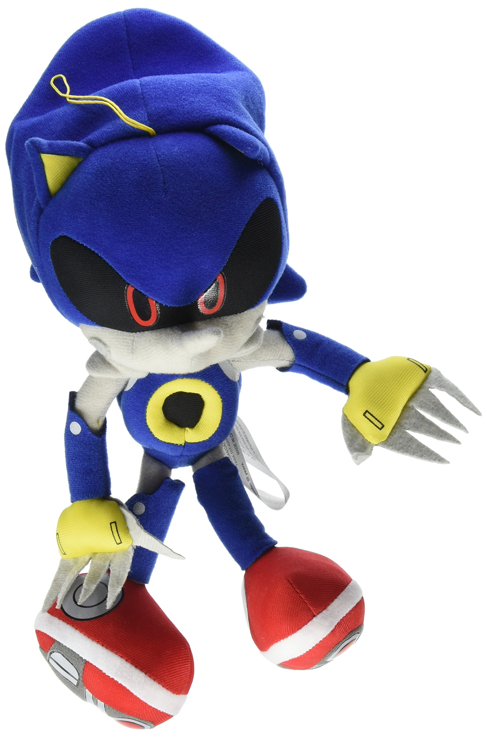 "Ships Next Day GE Great Eastern Sonic The Hedgehog 12/"" Super Shadow Plush"