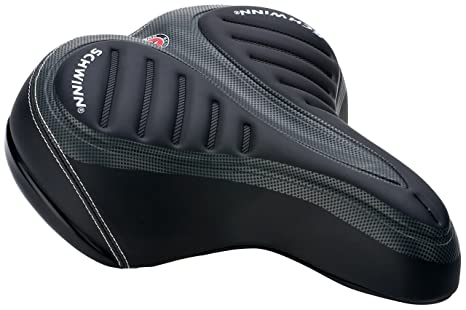 3aeddc15b66 Image Unavailable. Image not available for. Color: Schwinn Pillow Top Cruiser  Bicycle Seat