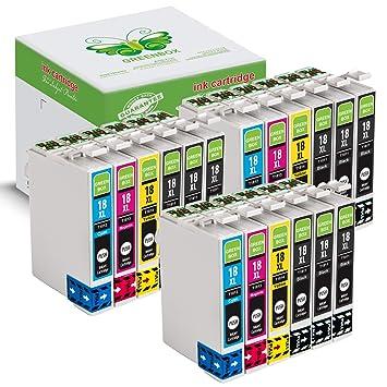 GREENBOX Compatible EPSON 18 18XL Cartuchos De Tinta Reemplazo (9 ...
