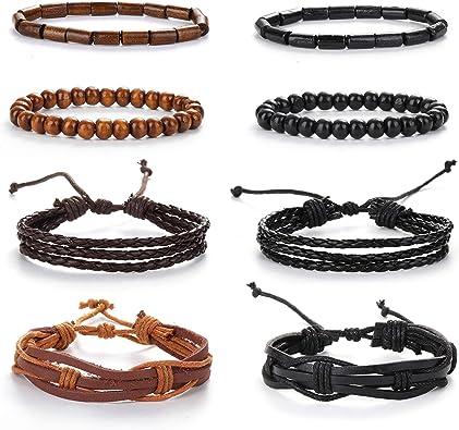 bracelet cuir ficelle