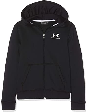 Under Armour EU Cotton Fleece Full Zip Sudadera, Niños
