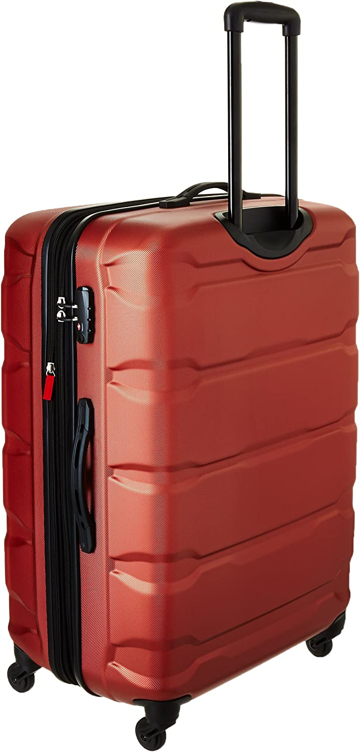 Samsonite Omni PC Hardside Expandable Luggage with Spinner Wheels Teal