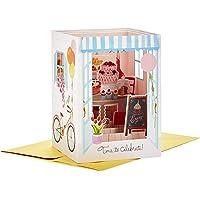 Hallmark Paper Wonder Displayable Pop Up Birthday Card for Her (Bakery)