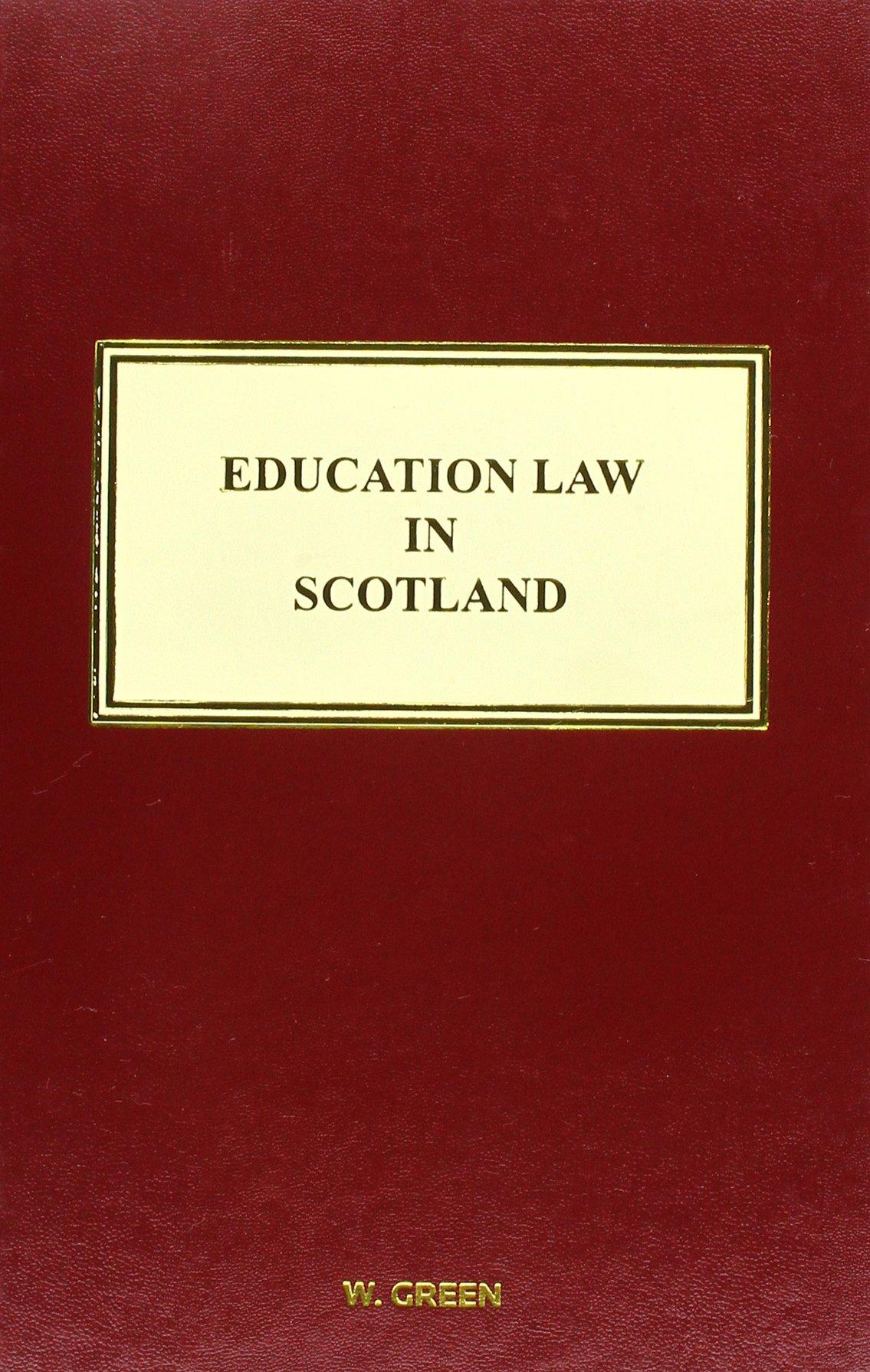 Education Law in Scotland ebook