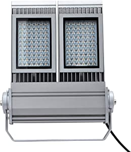 LED 150W Outdoor Stadium Flood Light 5000K Daylight White Wall Washer Lighting for Factory Garden Sea Port Sliver