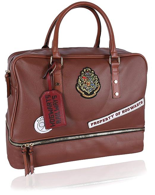 Bolsa de viaje grande marrón HARRY POTTER: Amazon.es: Ropa y ...