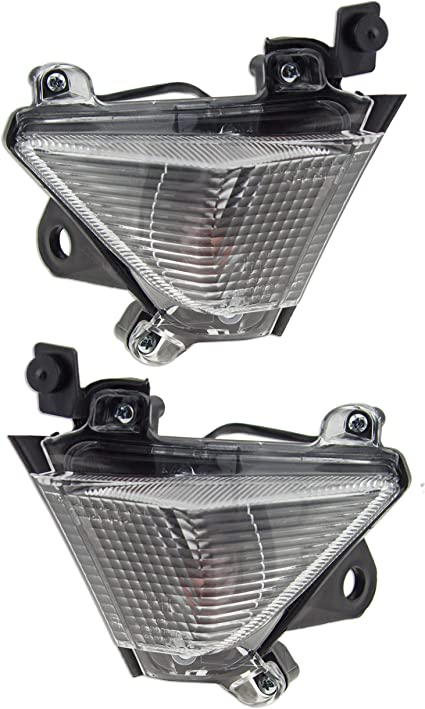 Flush Mount LED Turn Signal For Kawasaki Ninja Light ZX 6R 9R 10R Flasher Clear