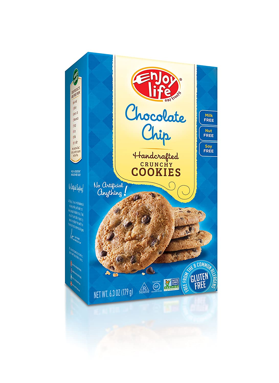 Amazon.com: Enjoy Life Crunchy Cookies, Gluten-Free, Dairy-Free ...