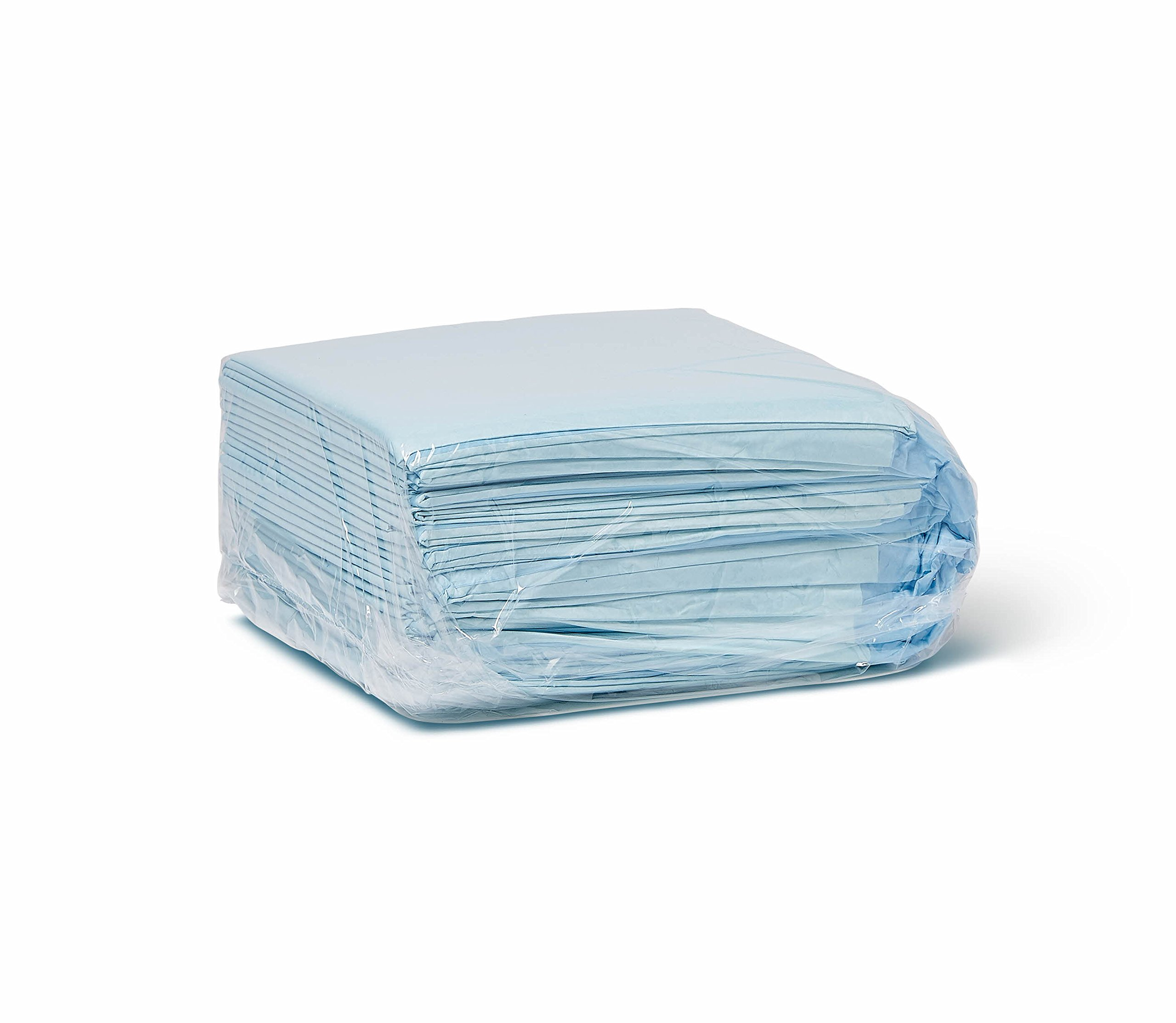 Medline Quilted Basic Disposable Blue Underpad, 23'' x 36'' for Incontinence, Furniture Protection or Pet Pads (Pack of 150) by Medline (Image #3)