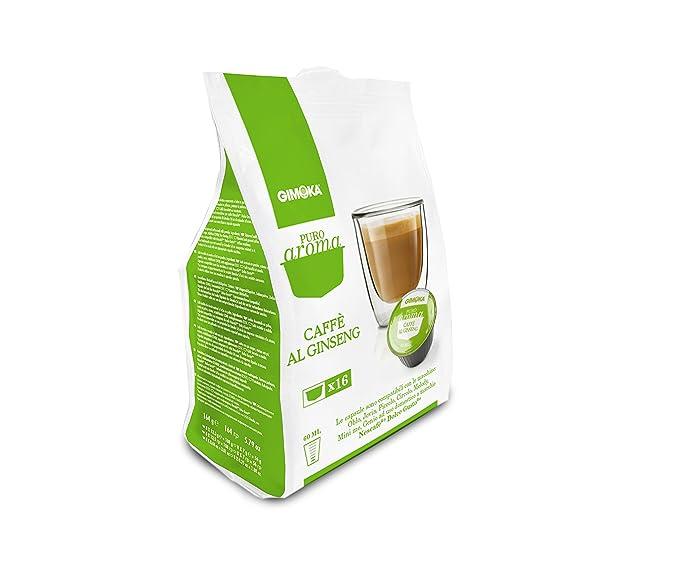 Gimoka Ginseng 16 Capsule Compatibili Nescafe Dolce Gusto Amazon It