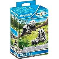 PLAYMOBIL 70353 - 2 panda's met baby, vanaf 4 jaar