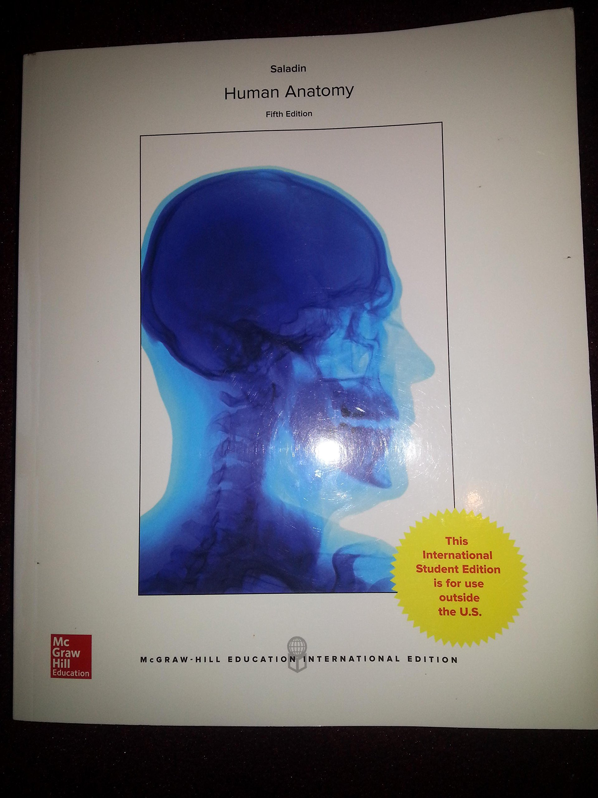 Human Anatomy: Amazon.co.uk: Kenneth Saladin: 9781259254819: Books