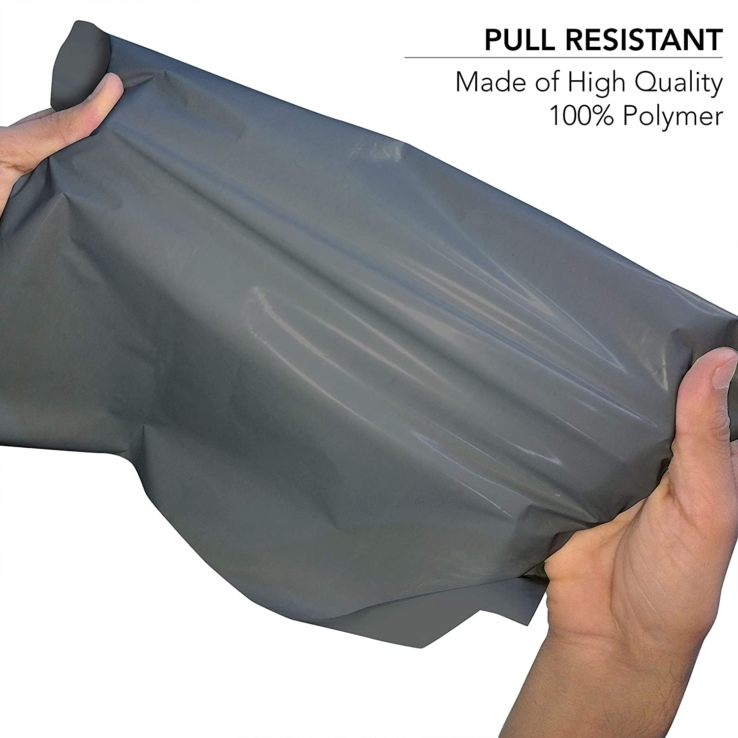 100 Mixed Grey Mailing Poly Postal Self Seal Bags 4 Sizes 25 from Each iSOUL Small to Large Mailing Bags Postage Packaging Assorted Mailers Posting Shipping Post Parcel Package Bags