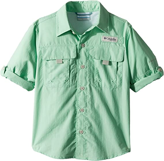 72e9d85e Amazon.com : Columbia Boys Bahama Long Sleeve Shirt : Clothing
