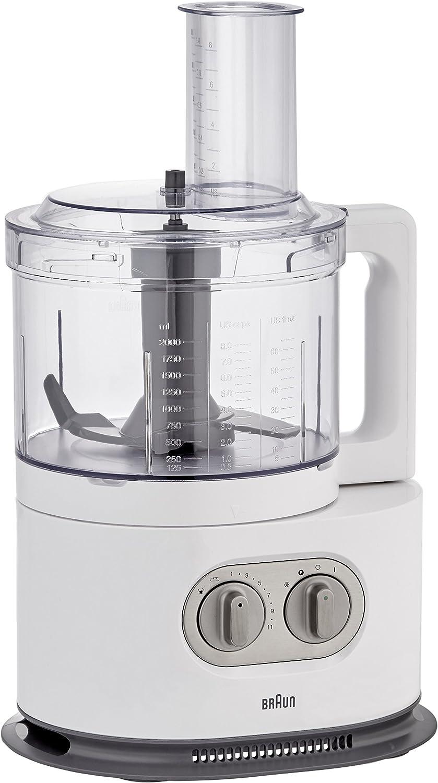 Braun FP5160WH Tritan - Robot de cocina (1000 W), color negro ...