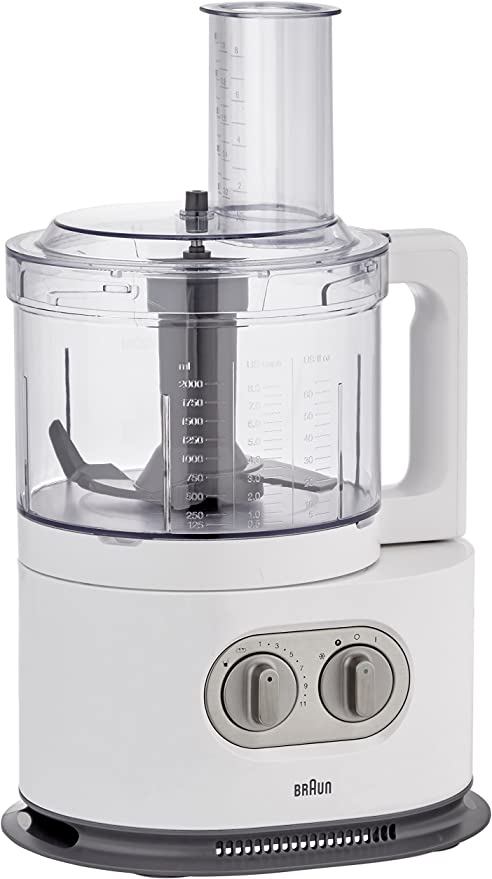 Braun FP5160WH Tritan - Robot de cocina (1000 W), color negro: Amazon.es: Hogar