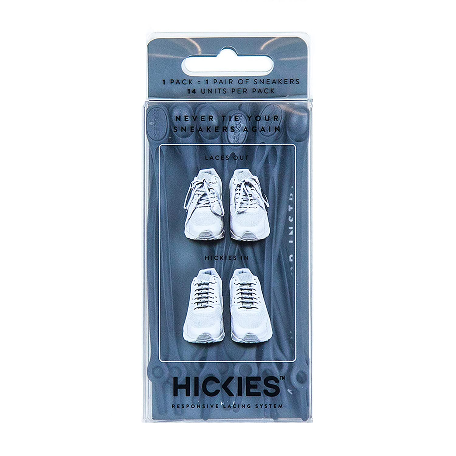 da6e9d25767a8 Mua sản phẩm HICKIES 1.0 One Size Fits All Elastic No-Tie Shoelaces ...